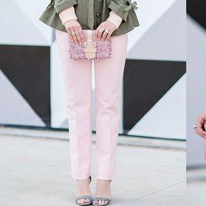 Banana Republic Light Blush Pink Avery Ankle Pant